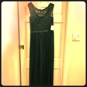 Juniper green bridesmaid gown: NEVER WORN